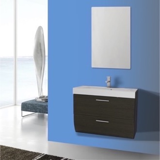 Bathroom Vanity 30 Inch Wall Mount Grey Oak Bathroom Vanity Set Iotti NN33