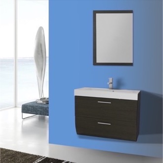 Bathroom Vanity 30 Inch Wall Mount Grey Oak Bathroom Vanity Set Iotti NN36