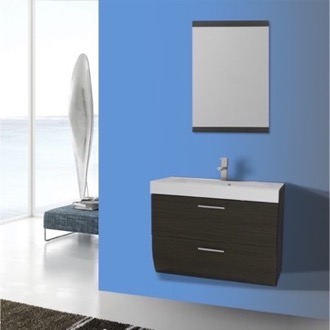 Bathroom Vanity 30 Inch Wall Mount Grey Oak Bathroom Vanity Set Iotti NN37