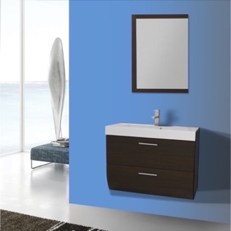 Bathroom Vanity 30 Inch Wall Mount Wenge Bathroom Vanity Set Iotti NN63