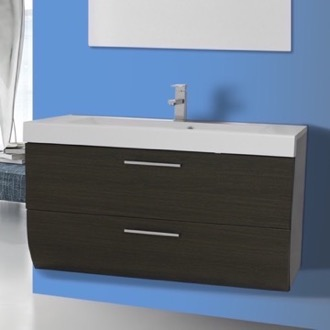 Bathroom Vanity 38 Inch Wall Mount Bathroom Vanity Cabinet with Sink Iotti WC08