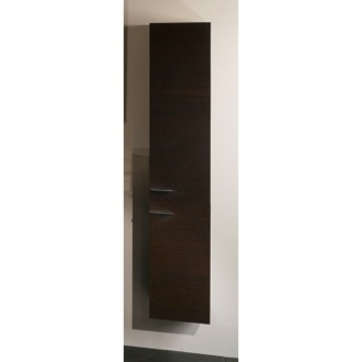 Storage Cabinet Wenge Wall-Mounted Storage Cabinet With 2 Doors Iotti SB02