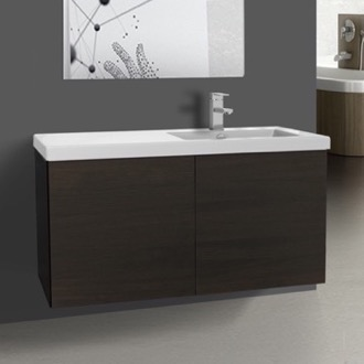 Bathroom Vanity Vanity Cabinet with Self Rimming Sink and 2 Doors Iotti SE03C