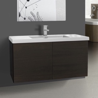 Bathroom Vanity Vanity Cabinet with Self Rimming Sink and 2 Doors Iotti SE04C