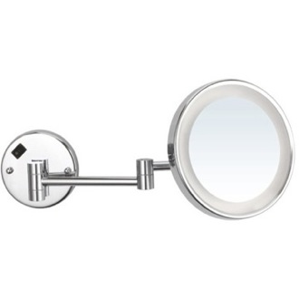 Makeup Mirror Round Wall Mounted Magnifying Mirror with LED, Hardwired Nameeks AR7703