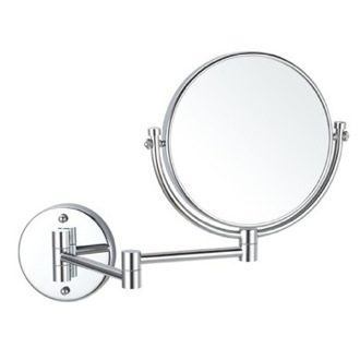 Makeup Mirror Double Sided Wall Mounted 5x Makeup Mirror Nameeks AR7707-CR-5x