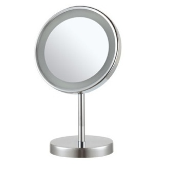 Makeup Mirror Round Free Standing 3x LED Makeup Mirror Nameeks AR7711