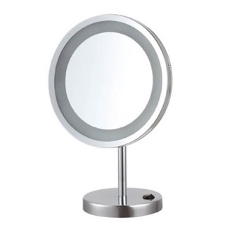 Makeup Mirror Free Standing 10x LED Makeup Mirror Nameeks AR7729-CR-10x