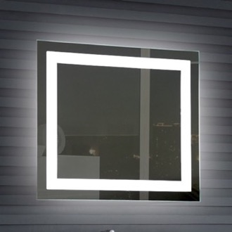 Vanity Mirror 32 x 28 Inch Illuminated Vanity Mirror Nameeks ARR02