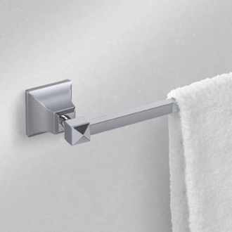Towel Bar 14 Inch Polished Chrome Towel Bar Nameeks NCB03