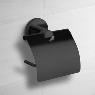 Toilet Paper Holder Matte Black Toilet Paper Holder With Cover Nameeks NCB66