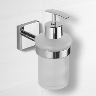 Soap Dispenser Polished Chrome Wall Mounted Soap Dispenser Nameeks NCB70