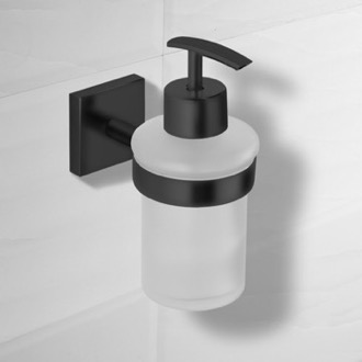 Soap Dispenser Matte Black Wall Mounted Soap Dispenser Nameeks NCB71