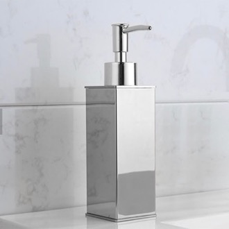 Soap Dispenser Square Modern Chrome Soap Dispenser Nameeks NCB82