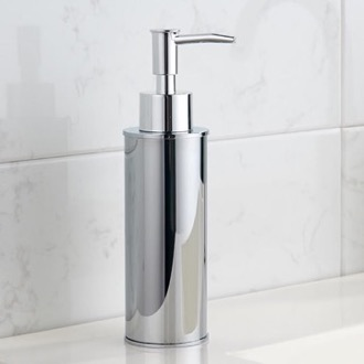 Soap Dispenser Round Modern Chrome Soap Dispenser Nameeks NCB84
