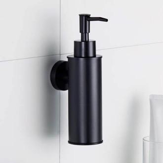 MODERN BATHROOM SQUARE ZINC SOAP DISPENSER GLASS