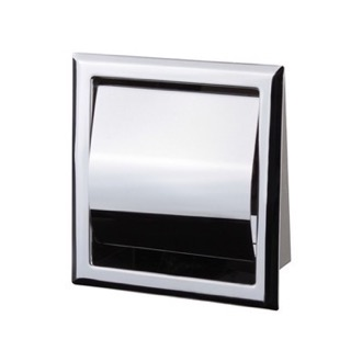 Toilet Paper Holder Chrome Recessed Toilet Paper Holder With Cover Nameeks NFA010
