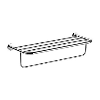Train Rack 26 Inch Chrome Towel Rack Nameeks NFA014