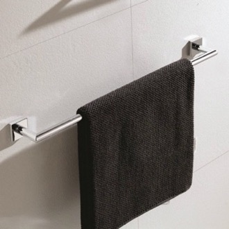 Towel Bar 25 Inch Modern Chrome Towel Bar Nameeks NNBL001