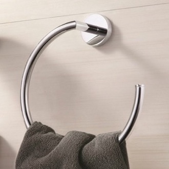 Towel Ring Modern Chrome Towel Ring Nameeks NNBL0030