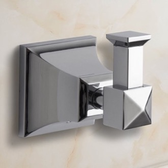 Bathroom Hook Polished Chrome Bathroom Hook Nameeks NCB05