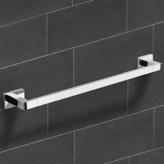 Towel Bar 25 Inch Modern Chrome Towel Bar Nameeks NCB12