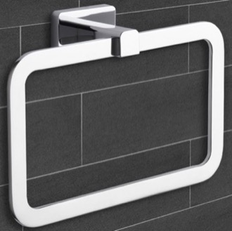 Towel Ring Modern Chrome Towel Ring Nameeks NCB16