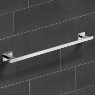 Towel Bar 21 Inch Polished Chrome Towel Bar Nameeks NCB22