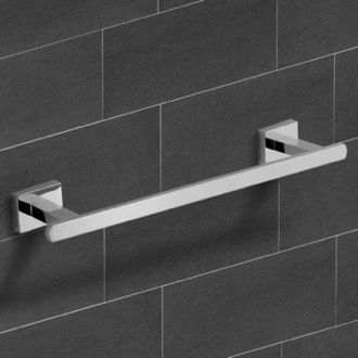 Towel Bar 12 Inch Polished Chrome Towel Bar Nameeks NCB24