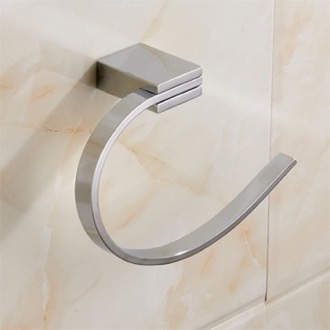 Towel Ring Modern Chrome Towel Ring Nameeks NCB32