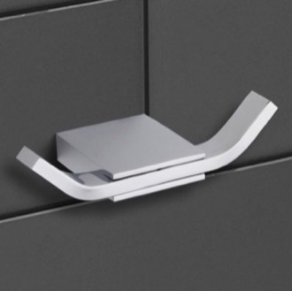 Bathroom Hook Modern Chrome Double Hook Nameeks NCB33