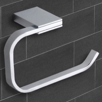 Toilet Paper Holder Polished Chrome Toilet Paper Holder Nameeks NCB34