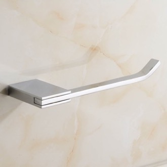 Toilet Paper Holder Polished Chrome Toilet Paper Holder Nameeks NCB35