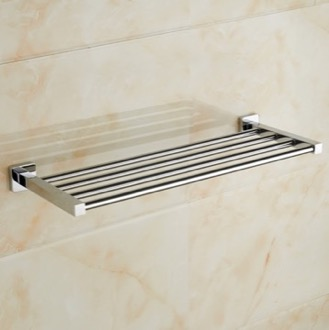 Train Rack Polished Chrome Towel Rack Nameeks NCB48
