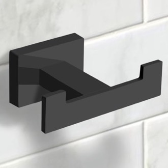 Bathroom Hook Modern Matte Black Bathroom Hook Nameeks NCB56
