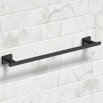 Towel Bar 21 Inch Modern Matte Black Towel Bar Nameeks NCB59