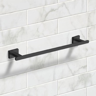 Towel Bar 18 Inch Matte Black Towel Bar Nameeks NCB60