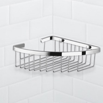 Shower Basket Chrome Corner Wire Shower Basket Nameeks NFA022