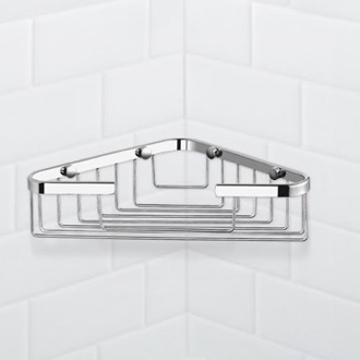 Shower Basket Chrome Corner Shower Basket Nameeks NFA023
