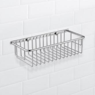 Shower Basket Wall Mounted Chrome Wire Nameeks Nfa024
