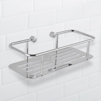 Shower Basket Wall Mounted Chrome Shower Basket Nameeks NFA028