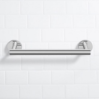 Grab Bar 14 Inch Polished Chrome Grab Bar Nameeks NNBL0010
