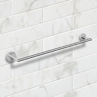 Towel Bar 25 Inch Polished Chrome Towel Bar Nameeks NNBL0024
