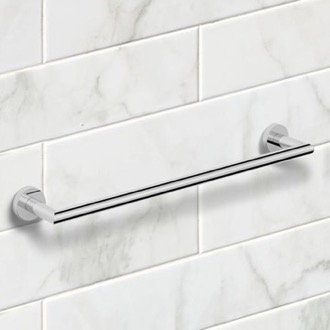 Towel Bar 19 Inch Polished Chrome Towel Bar Nameeks NNBL0037