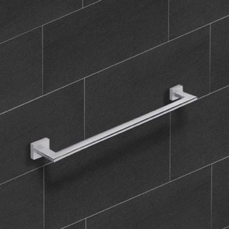 Towel Bar 18 Inch Modern Chrome Towel Bar Nameeks NNBL0071