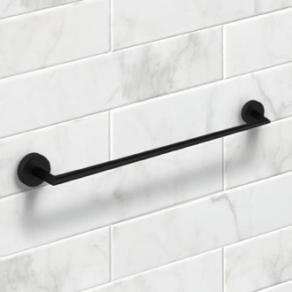 Towel Bar 24 Inch Matte Black Towel Bar Nameeks NNBL0081