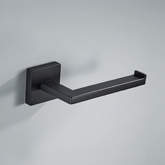 Toilet Paper Holder Modern Matte Black Toilet Paper Holder Nameeks NCB89