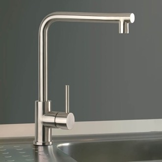 Kitchen Faucet Chrome One Hole Kitchen Faucet Remer 304N72