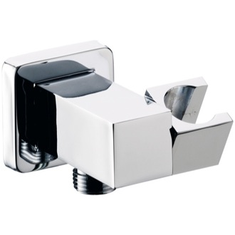 Hand Held Shower Bracket Square Shower Wall Bracket With Water Outlet Remer 337S