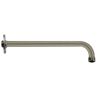 Shower Arm Satin Nickel 16 Inch Shower Arm With Flange Remer 343-40US-NP